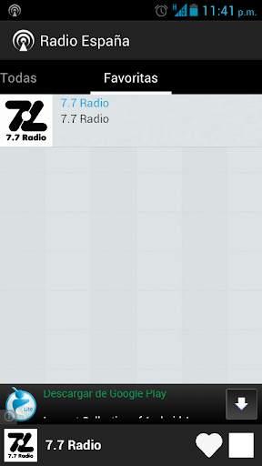 Radio Spain screenshot 4