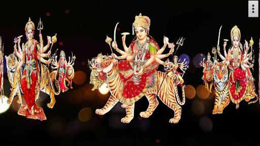 4D Maa Durga Live Wallpaper 8 تصوير الشاشة