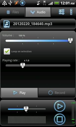RecForge Lite - Audio Recorder 4 تصوير الشاشة