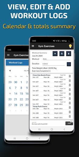 Gym Exercises & Workouts screenshot 8
