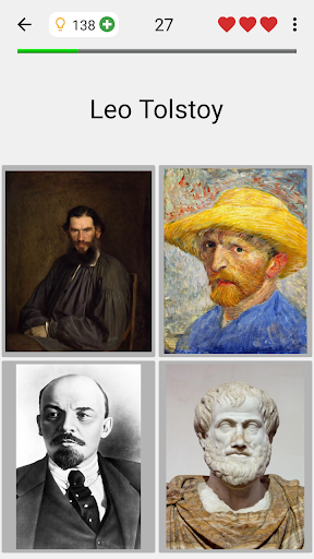 Famous People - History Quiz about Great Persons 1 تصوير الشاشة