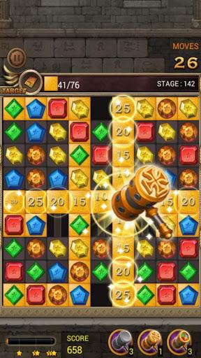 Jewels Temple Quest : Match 3 स्क्रीनशॉट 6
