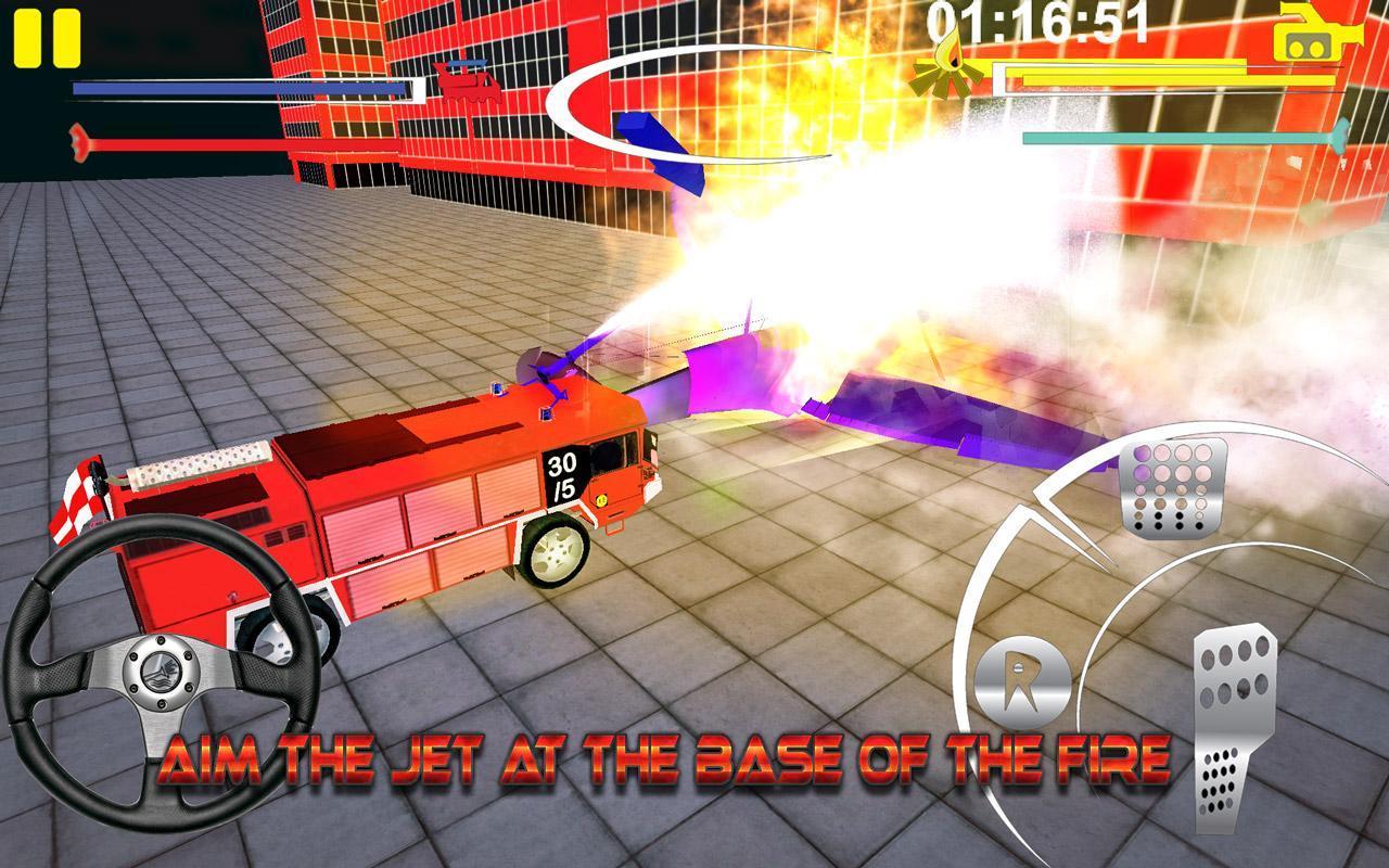 Firefighter-Fire Brigade Truck screenshot 5