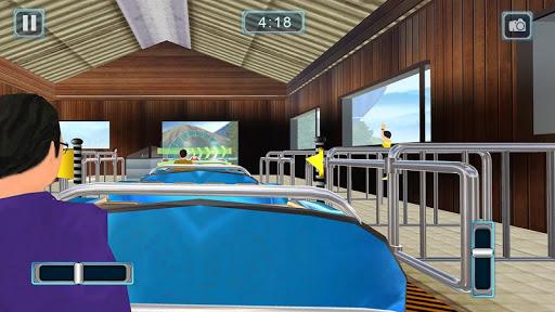 Rücksichtslose Achterbahn-Simulator-Spiele screenshot 3