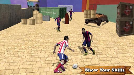 Street Football Championship & Penalty Kick Skills screenshot 1