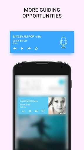 Online radio - Zaycev.fm. Listen radio offline 5 تصوير الشاشة