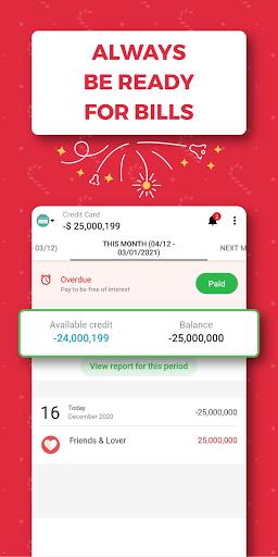 Money Lover: Expense Manager & Budget Tracker 7 تصوير الشاشة