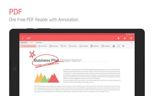 Polaris Office - Free Docs, Sheets, Slides   PDF screenshot 21