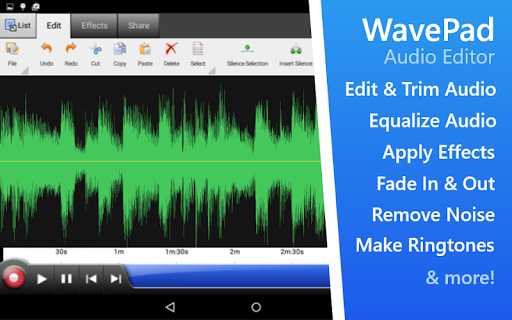 WavePad Audio Editor Free screenshot 8