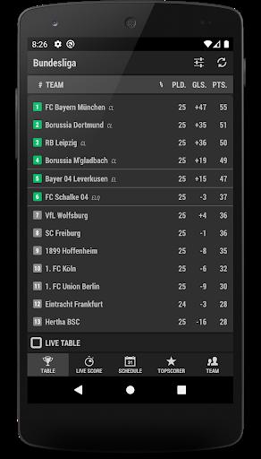 Football DE - Bundesliga screenshot 6