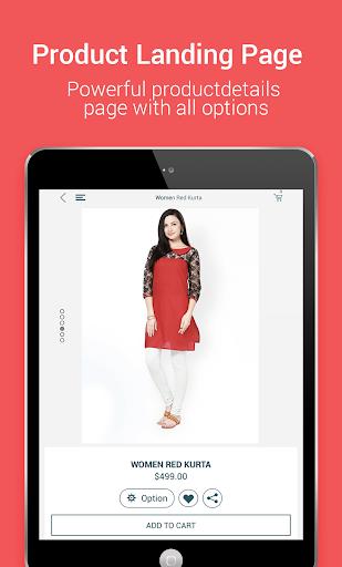 Niftyapp - Magento Mobile App screenshot 14