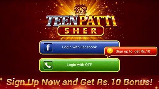 TeenPatti Sher - 2021 Newest 3patti Online स्क्रीनशॉट 2