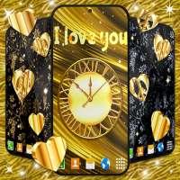 Gold Hearts 4K Wallpaper 💛 Golden live Wallpaper on APKTom