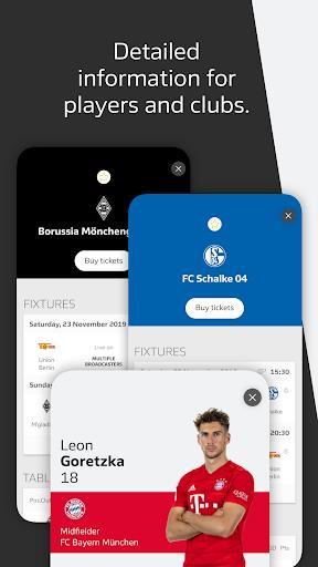 BUNDESLIGA - Official App 6 تصوير الشاشة