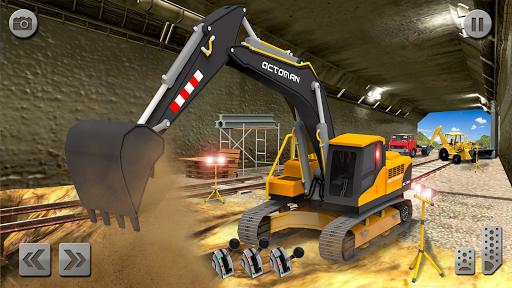 Sand Excavator Simulator 2021: Truck Driving Games screenshot 8