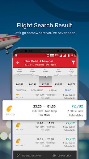 Yatra - Flights, Hotels, Bus, Trains & Cabs 3 تصوير الشاشة