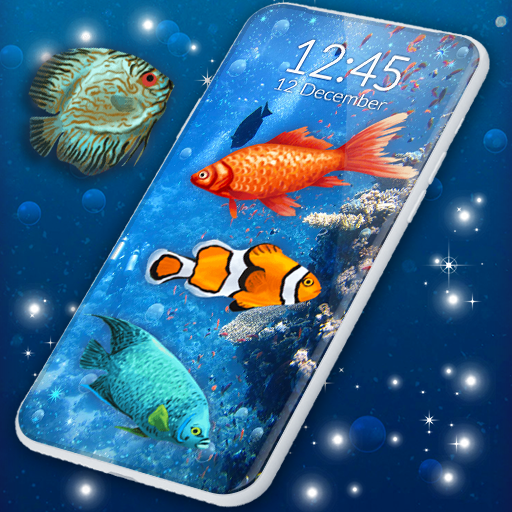 Ocean Live Wallpaper 🐠 Fish 4K Wallpapers icon