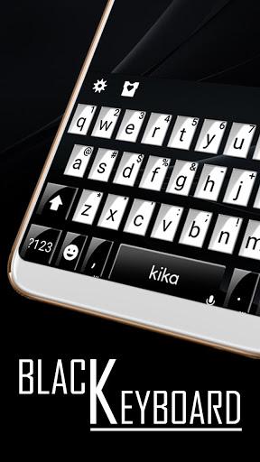 Classic Business Black Keyboard Theme screenshot 2