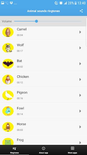 اصوات الحيوانات- نغمات 3 تصوير الشاشة