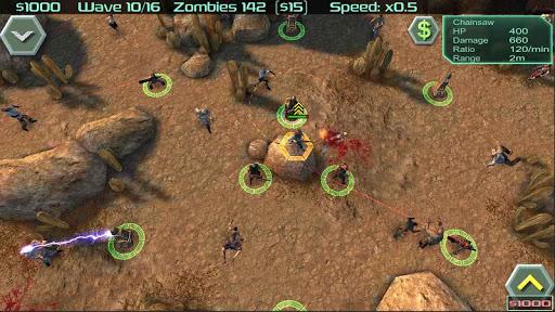 Zombie Defense 10 تصوير الشاشة