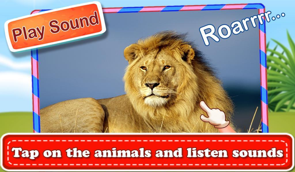 Real Wild Animal Sounds स्क्रीनशॉट 3