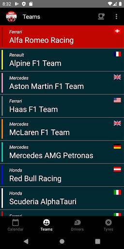 Racing Calendar 2021 screenshot 4
