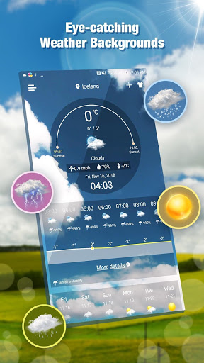Daily Live Weather Forecast App screenshot 1