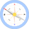 Easy North South Compass icon