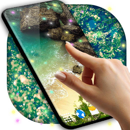 Live Wallpaper for Galaxy J2 ⭐ Background Changer أيقونة