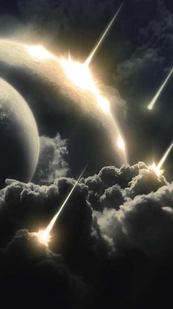 Meteor Live Wallpaper screenshot 3