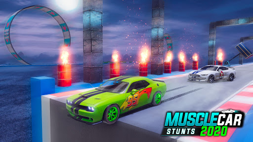 Muscle Car Stunts 2020: Mega Ramp Stunt Car Games screenshot 5