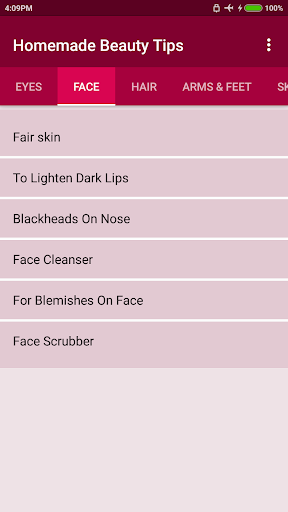 Homemade Beauty Tips screenshot 2