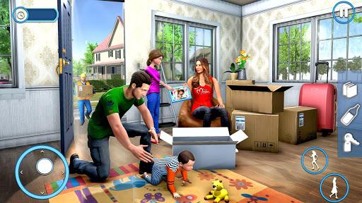 New Family House Builder Happy Family Simulator screenshot 5