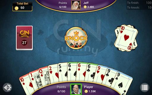 Gin Rummy - Offline Free Card Games 13 تصوير الشاشة