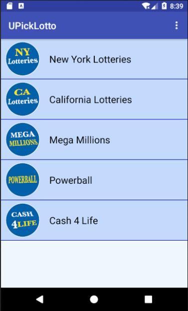 U-Pick Lotto screenshot 2