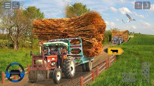 Tractor Trolley Cargo Game : Farming Simulation 20 screenshot 1