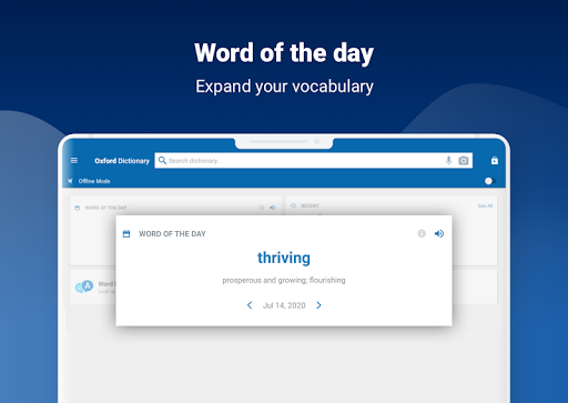 Oxford Dictionary of English screenshot 14