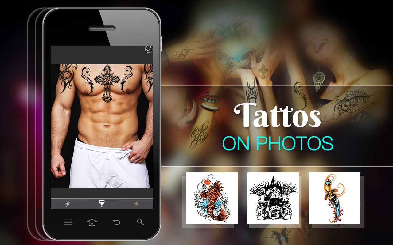 Tattoo On Photo : Tattoo Maker Editor & Creator screenshot 1