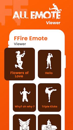 FFEmotes | Dances & Emotes Battle Royale screenshot 2