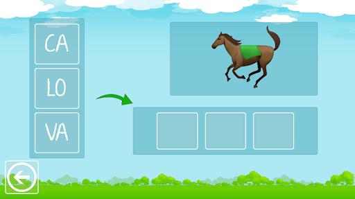 Formar Palavras - Alfabetização 4 تصوير الشاشة