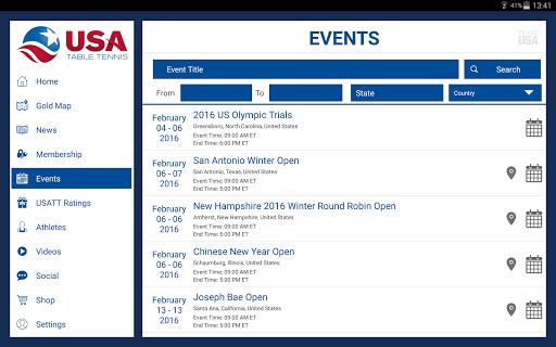 USA Table Tennis 8 تصوير الشاشة