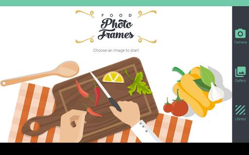 Food photo frames screenshot 7
