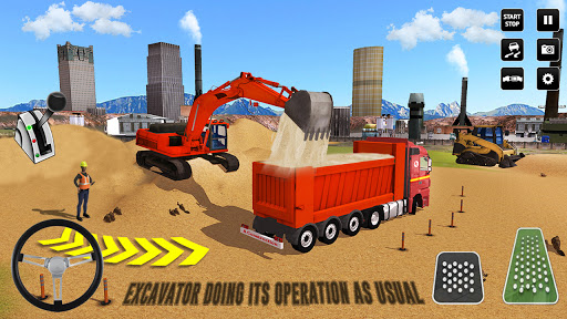 City Construction Simulator: Forklift Truck Game screenshot 4