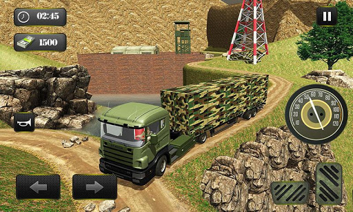 US OffRoad Army Truck driver 2020 screenshot 5
