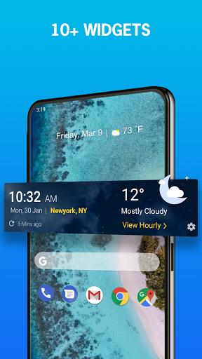 1Weather: Forecasts, Widgets, Snow Alerts & Radar 7 تصوير الشاشة