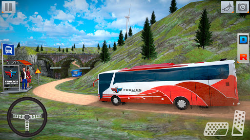 Modern Bus Simulator New Parking Games – Bus Games screenshot 3