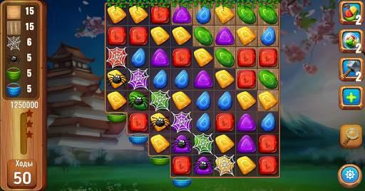 Самоцветы или кристаллы ?  Три в ряд screenshot 9