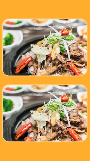البحث عن 5 الاختلافات - صور الطعام اللذيذ 3 1 تصوير الشاشة
