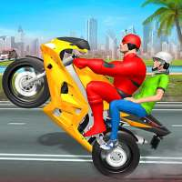 Superhero Bike Taxi Drive Game-Top Bike Games 2021 on APKTom