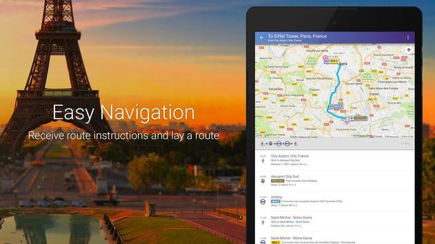 Maps & GPS Navigation: Find your route easily! screenshot 9